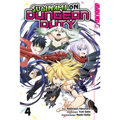 Suginami on Dungeon Duty - Band 4 Abschlussband (Manga | TokyoPop)