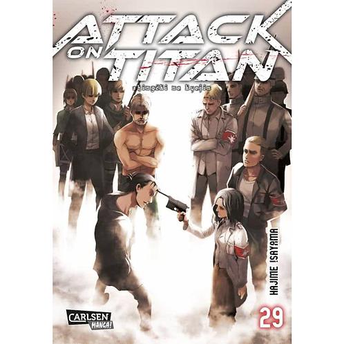 Attack on Titan - Band 29 (Manga | Carlsen)