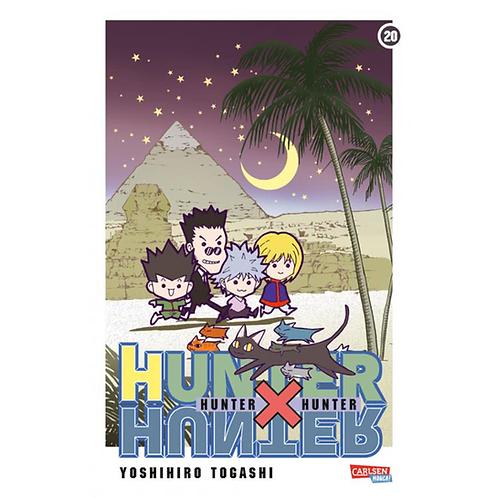 Hunter X Hunter - Band 20 (Manga   Carlsen)
