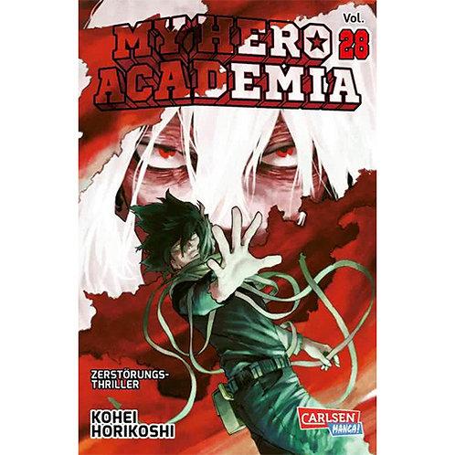 My Hero Academia - Band 28 (Manga | Carlsen Manga)
