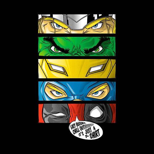 Eyes of Heroes (T-Shirt - Ladies S - XL)