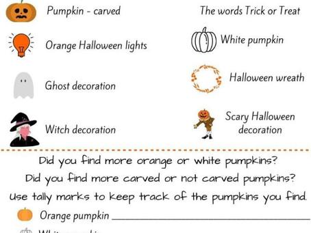 Halloween scavenger hunt: Download here!