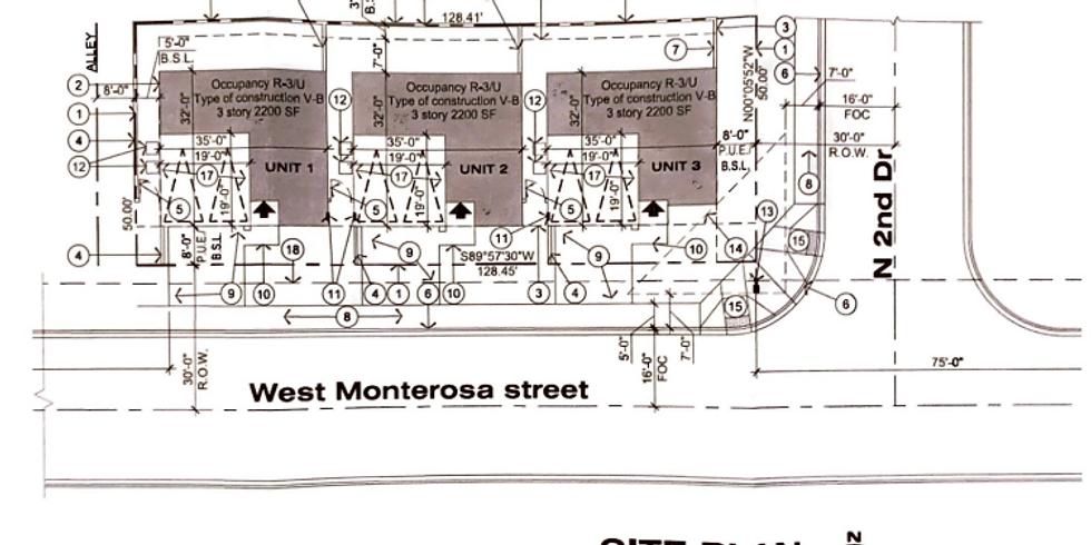 Zoning Adjustment Hearing: 2nd Drive & Monterosa