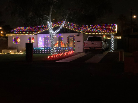 The holiday decorating contest winner is ...