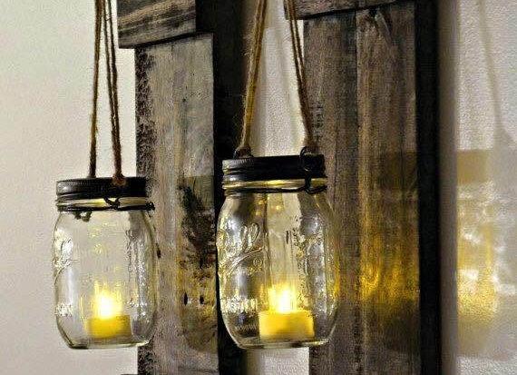 Luminária Rústica