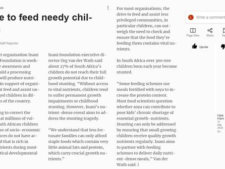 Move to feed needy children