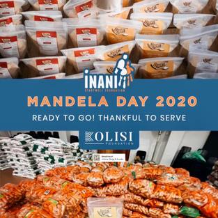 Mandela Day 2020 Meals