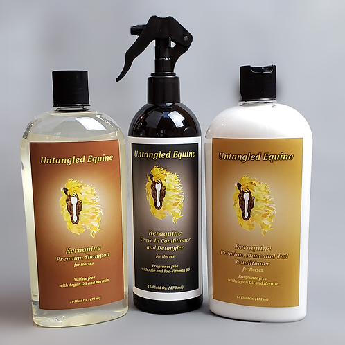 Keraquine Premium Hair Care Set
