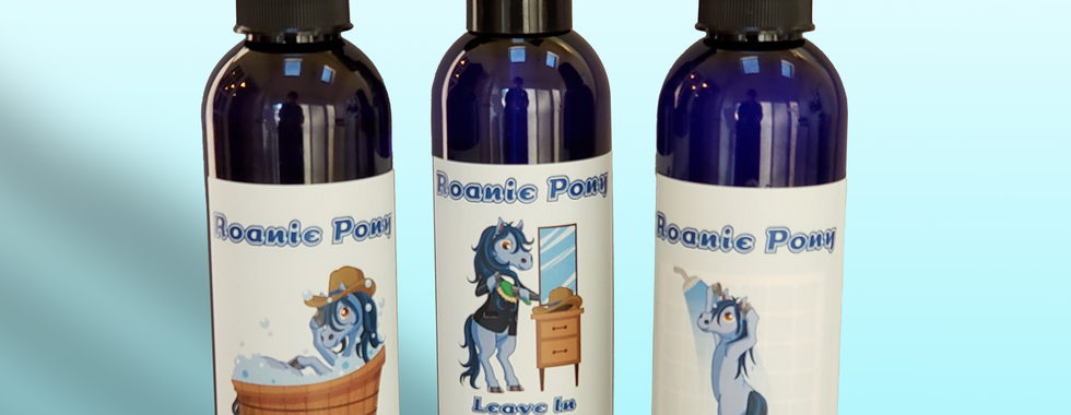 Complete Roanie Pony Mane and Tail Care Set