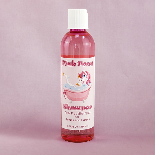 Pink Pony Shampoo for Horses and Ponies