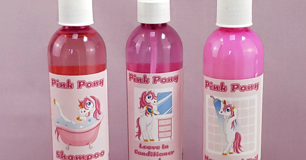 Complete Pink Pony Haircare Set