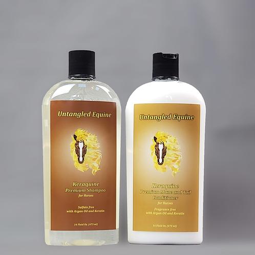 Keraquine Shampoo and Conditioner Combo