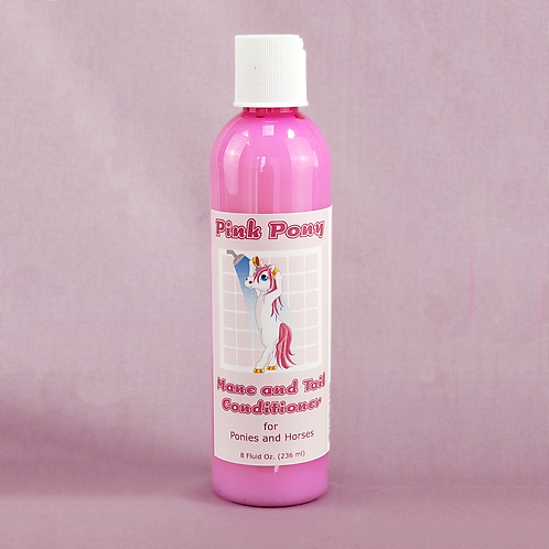 Pink Pony Mane and Tail Conditioner for Horses and Ponies