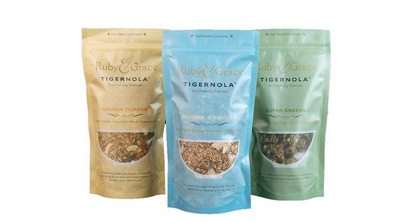Tigernut granola sampler -3pack