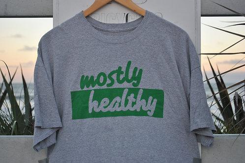 Mostly Healthy Logo Tee
