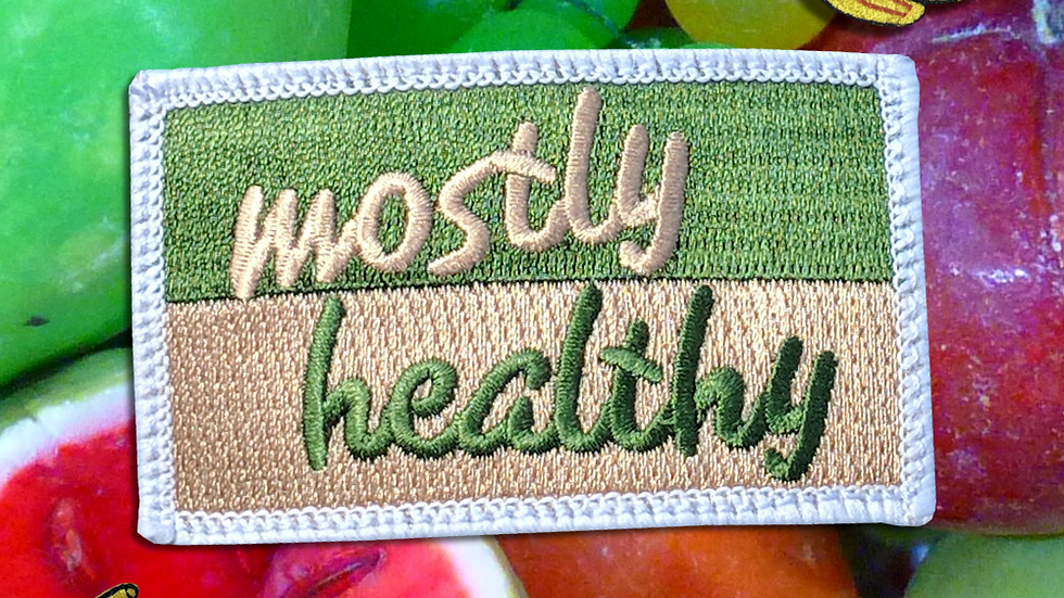 Mostly Healthy Patch Pack