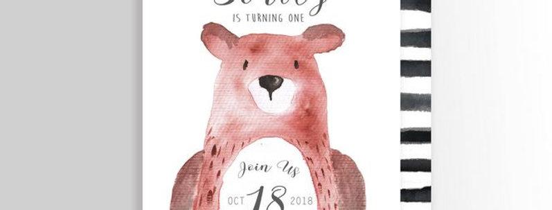 Big Bear Invitation