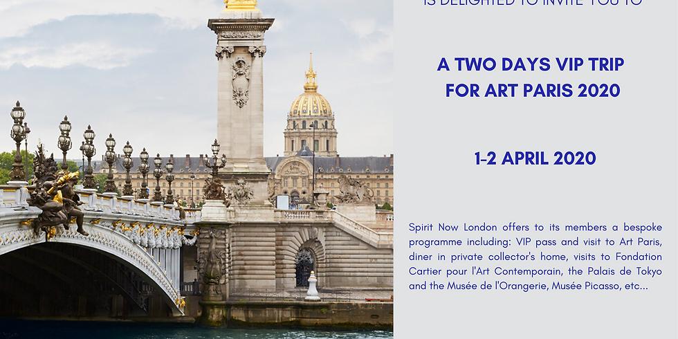 Two days trip for Art Paris