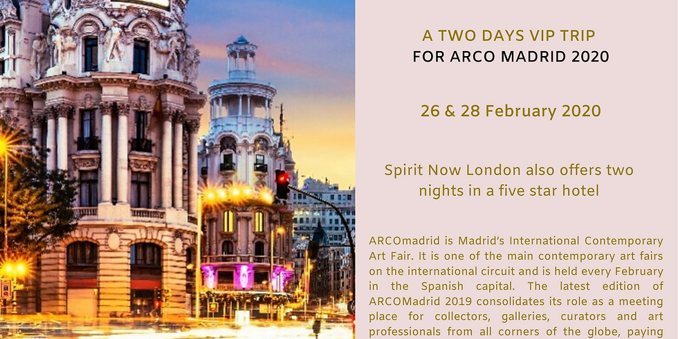Two days VIP trip to ARCO Madrid