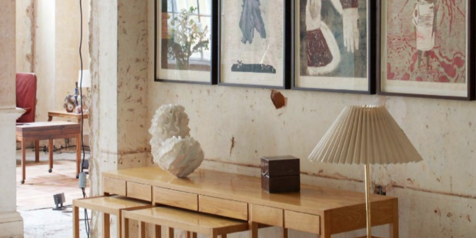 Visit of Stephen Friedman pop-up exhibition at the London House of Modernity