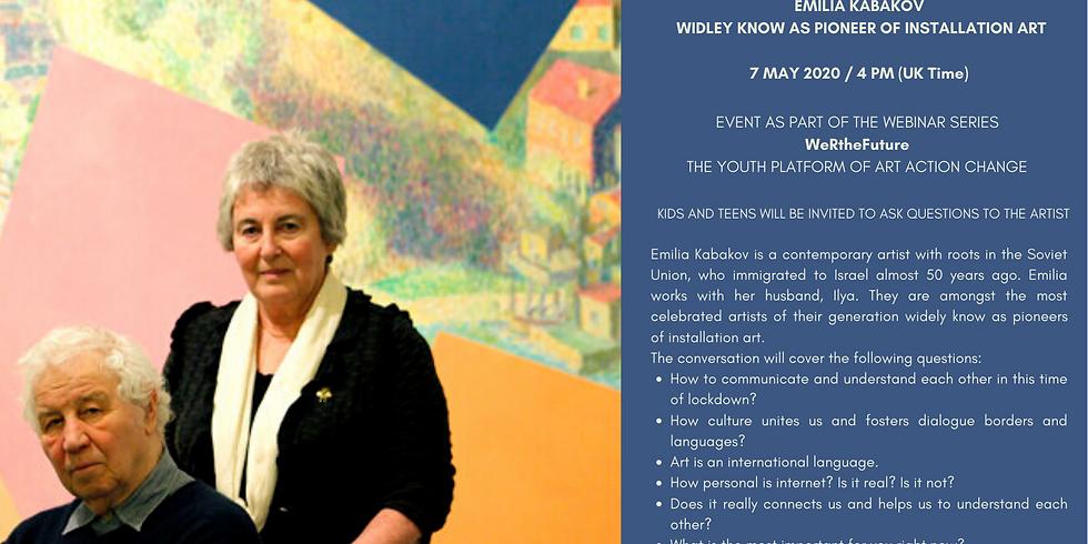 Webinar with the artist Emilia Kabakov