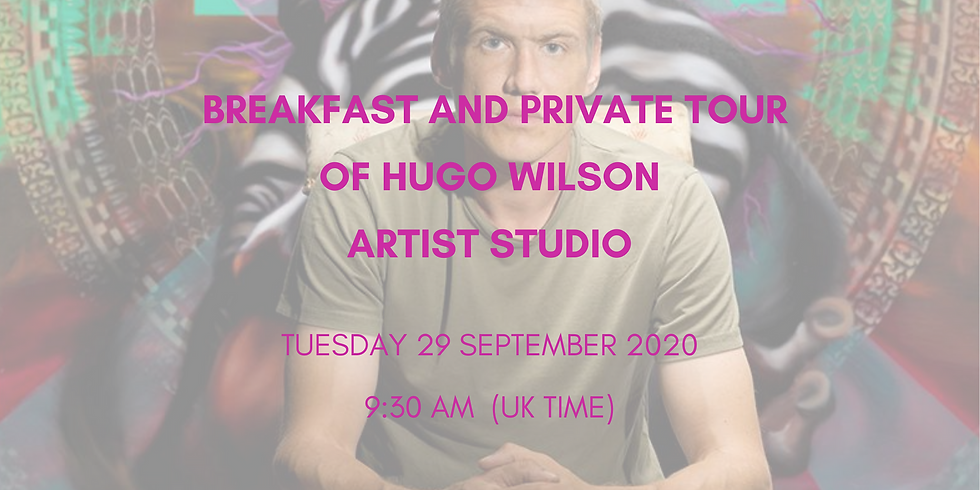 Breakfast & private visit to Hugo Wilson artist studio