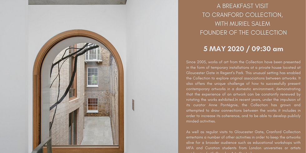 POSTPONED | Breakfast visit to Cranford Collection with Muriel Salem, founder of the collection