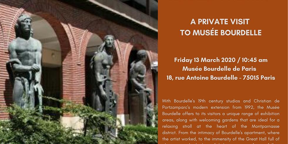 PARIS | Private visit to Musée Bourdelle