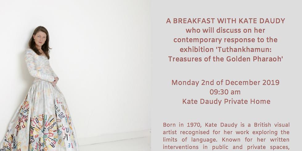 Breakfast with Kate Daudy