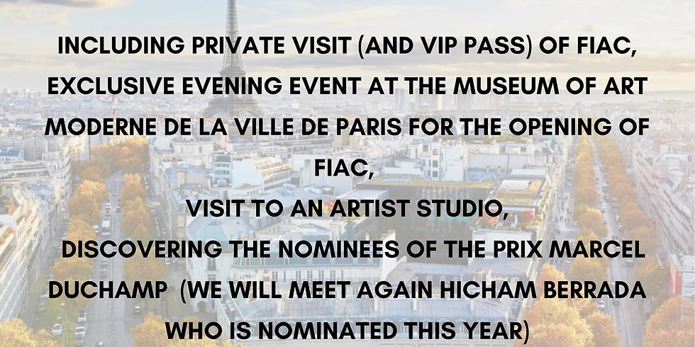 2 days art trip to Paris during FIAC