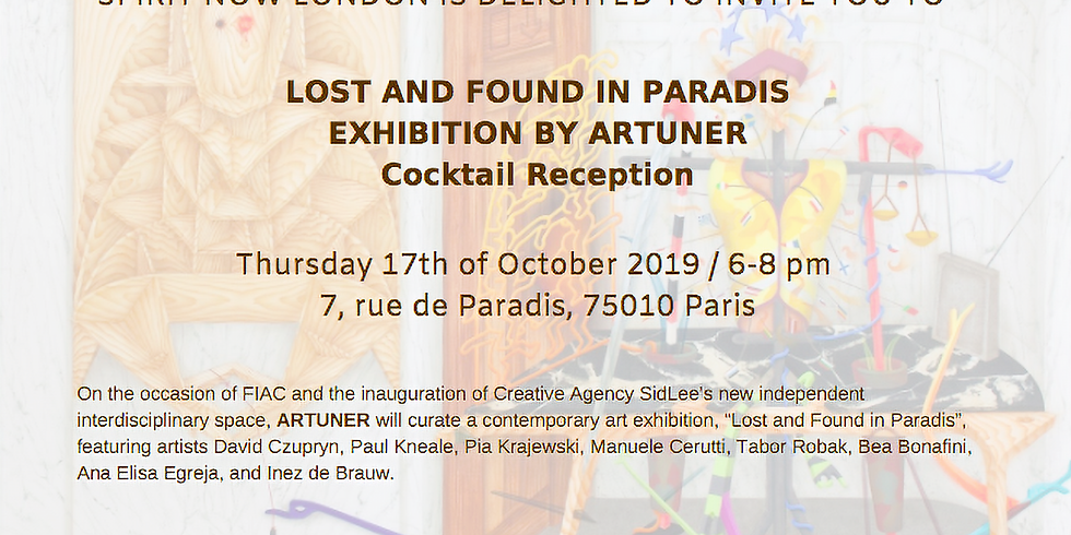 Exhibition 'Lost And Found In Paradis' curated by ARTUNER