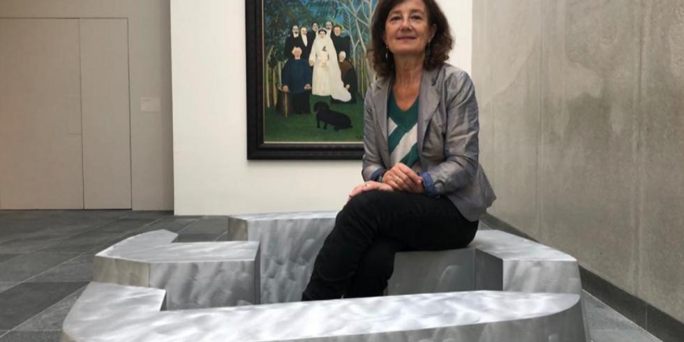Webinar and live-visit: Musée de l'Orangerie: Cecile Dubray / Agnès Thurnauer