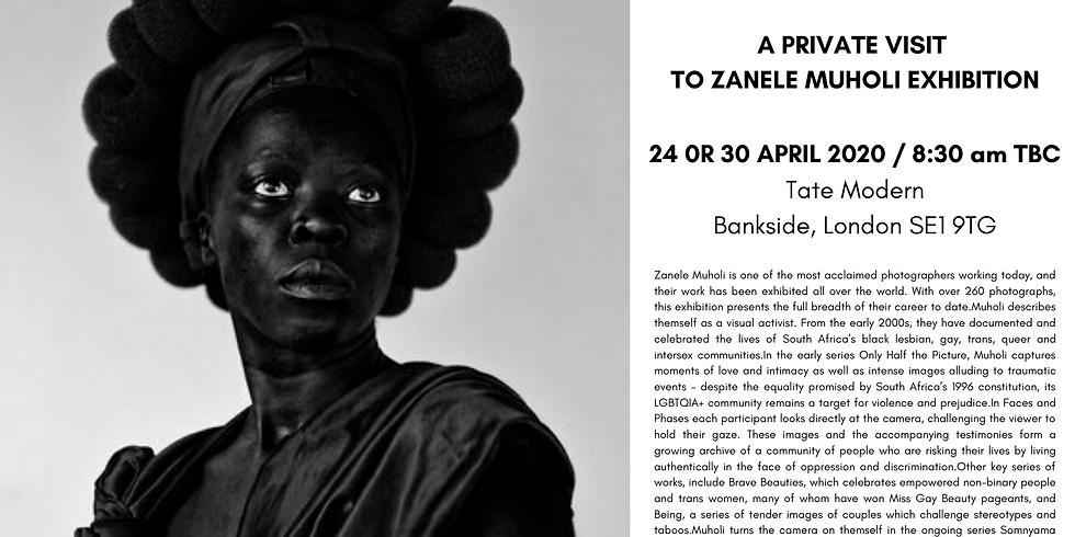 POSTPONED | Private visit to Zanele Muholi exhibition