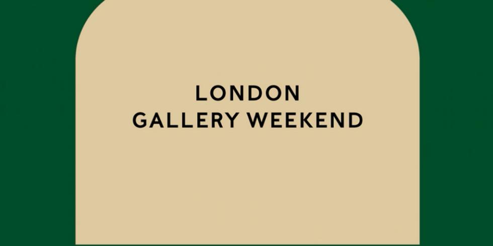 London Gallery Weekend - Lead tour