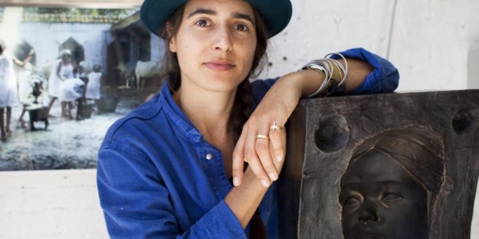 Webinar with the artist Prune Nourry, from her studio