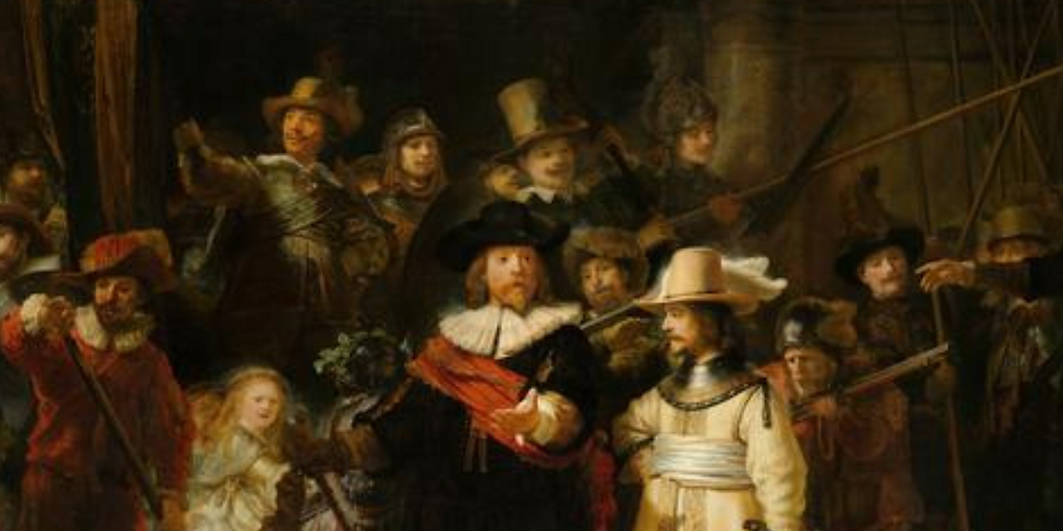 Masterclass series on Rembrandt. First event focusing on the painter with the art historian Valérie Denarnaud-Meyer