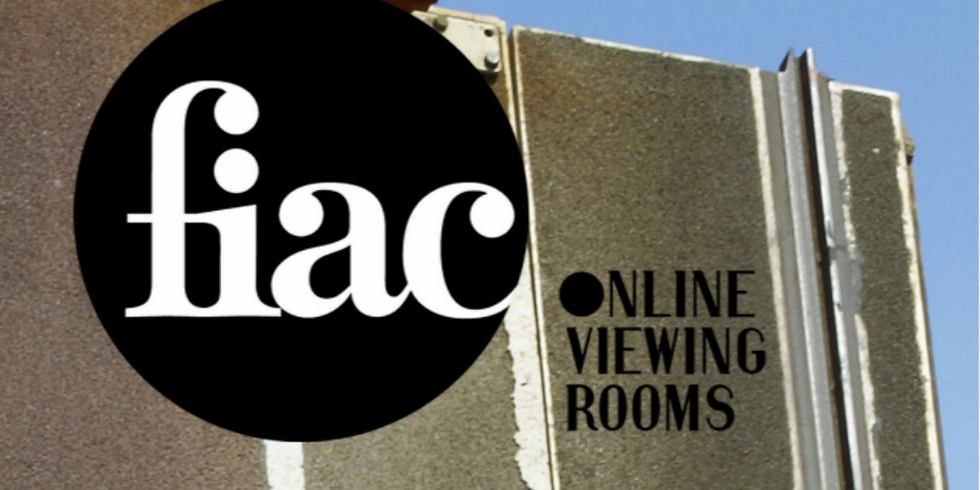 FIAC online viewing room with Tatyana Franck (Director of Musée de l'Elysee in Lausanne)