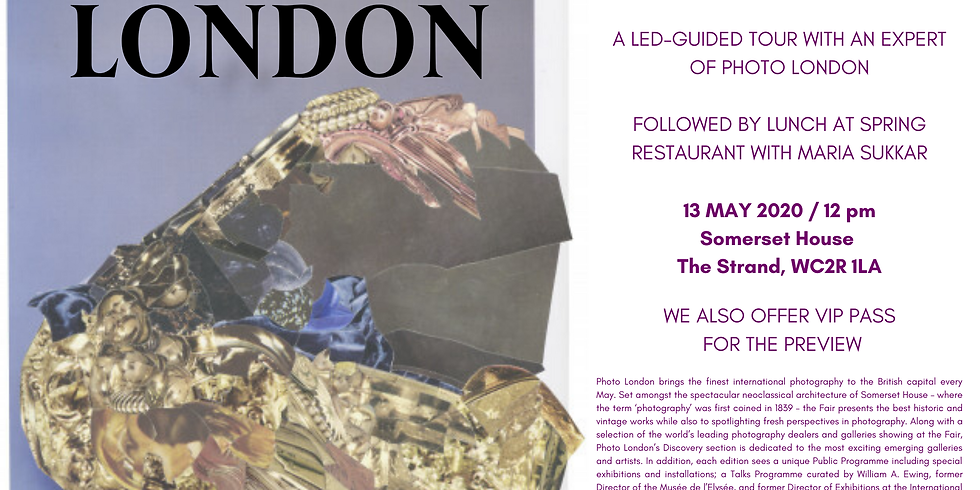POSTPONED | Photo London | Led-guided tour with an expert