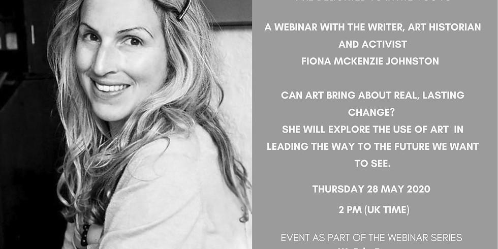 Webinar with Fiona MacKenzie Johnston