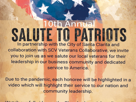 Nominations are open for Salute to Patriots!