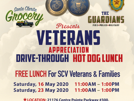 Veterans Appreciation Drive-Through Hot Dog Lunch