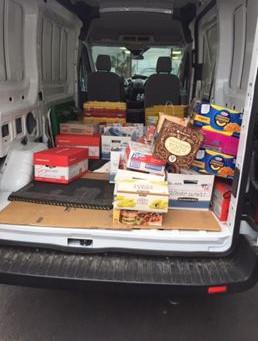 WESCO AIRCRAFT DONATES FOOD TO SANTA CLARITA VETERAN SERVICES COLLABORATIVE
