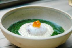 モロヘイヤと山芋のとろとろスープ