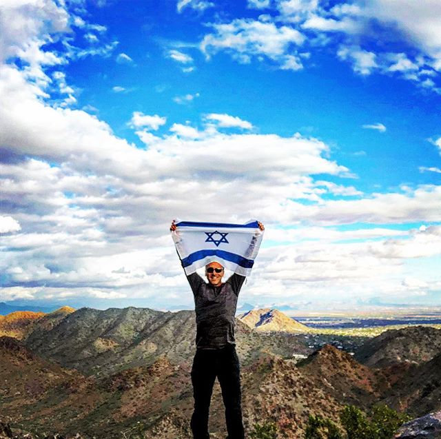 Shabbat shalom from the top of the world