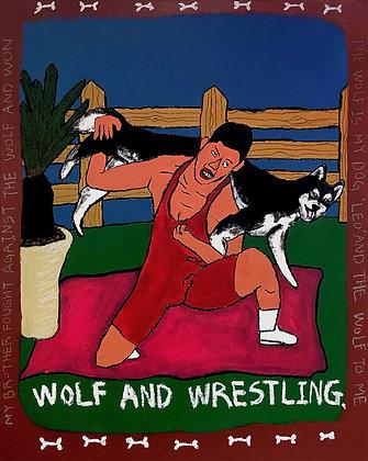 늑대와 레슬링