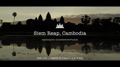 【レビュー】SONY α7III + TAMRON 28-75mm F2.8 Di III RXD   Siem Reap, Cambodia