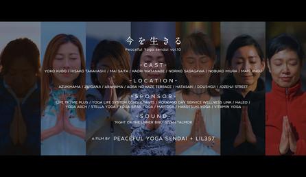 """Peaceful Yoga sendai """"今を生きる"""""""