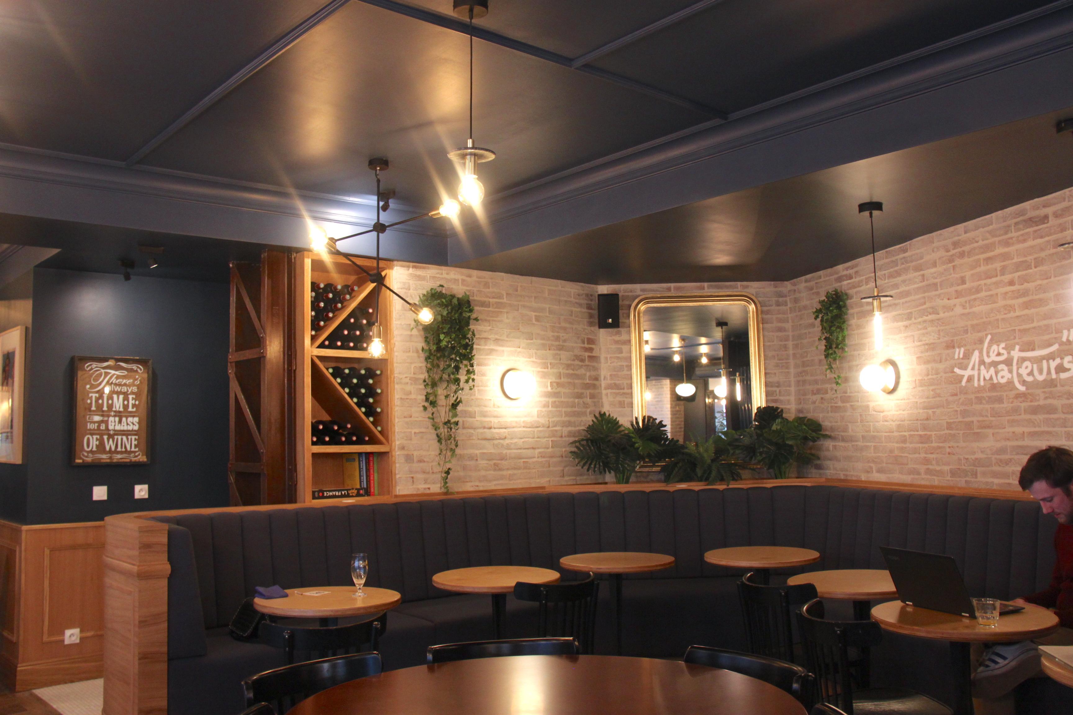 Banquettes Sur Mesure Restaurant LES AMA