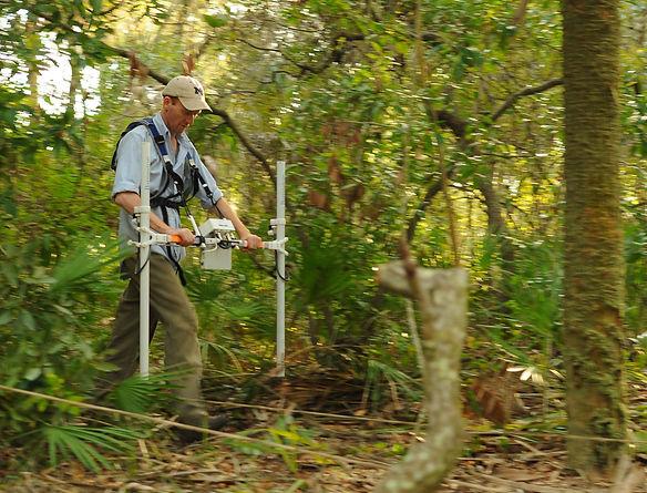 Horsley magnetometer survey Weedon Island, Florida