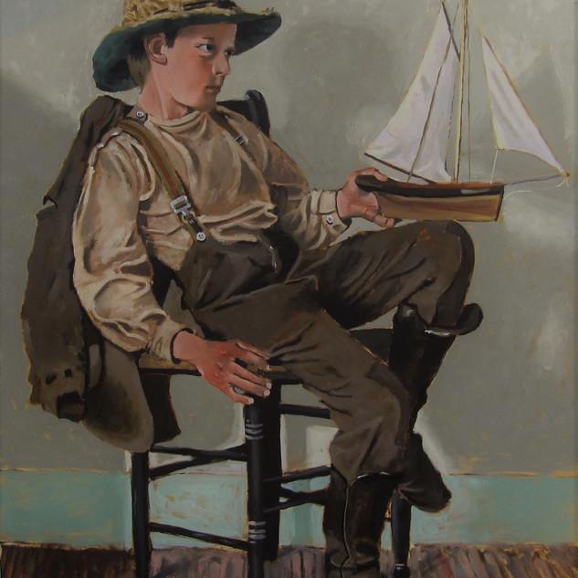 Un jeune marin en herbe